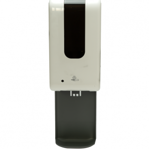 Automatic Wall Mount Hand Sanitizer Dispenser with Drip Tray (White)(Gel Sanitizer)