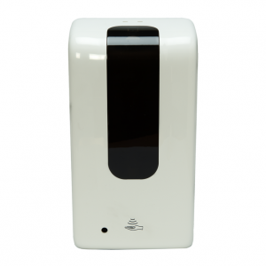 Automatic Hand Sanitizer Dispenser with Black Stand (White)(Gel Sanitizer)